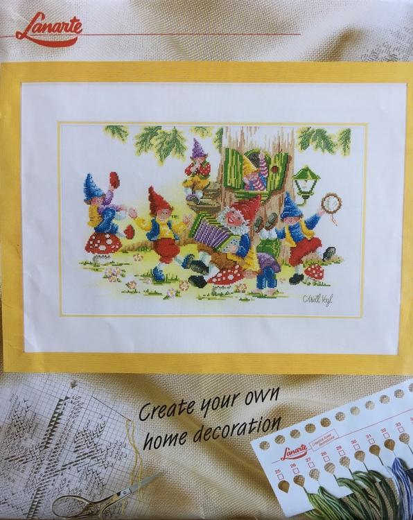 Lanarte Tavla - Gnomernas fest art nr 15578