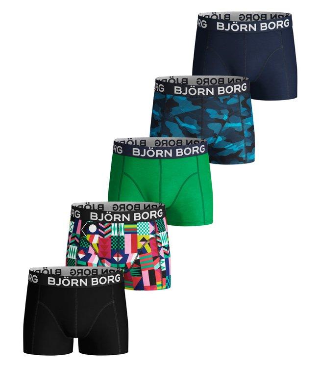 5-Pack BB Geo Flag & BB Sha Sammy Shorts