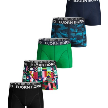 5-Pack BB Geo Flag & BB Sha Sammy Shorts