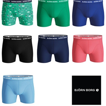 7-Pack Shorts Sammy BB Vår