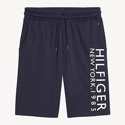 New York Logo Shorts, Navy Blazer