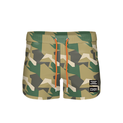 FD x ALX TM – Long Swim Shorts, Camo