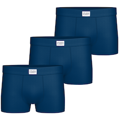 3-Pack Bamboo Trunk, Dark Navy