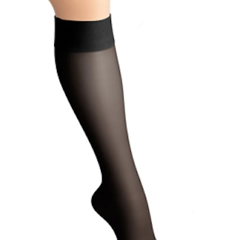 Kompressionsstrumpor Nylon, Beautiful Black – 15-18 mmHg