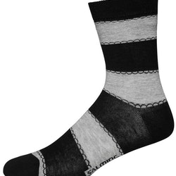 Sidney Sock, Black & Grey