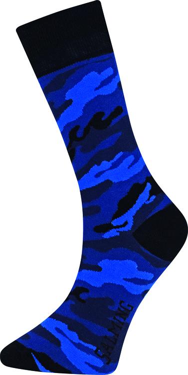 Forest Sock, Black/Blue
