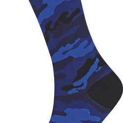 Forest Sock, Black/Blue