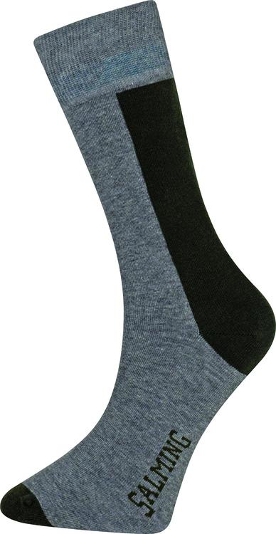 Cole Sock, Grey/Green