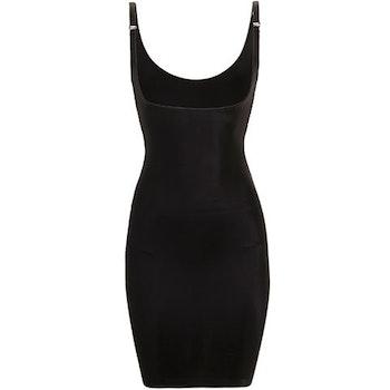 Full Slip Dress, Black