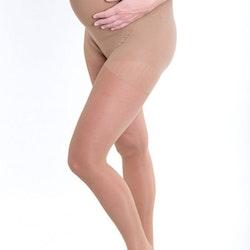 Stödstrumpbyxor för gravida i mikrofiber – Beige