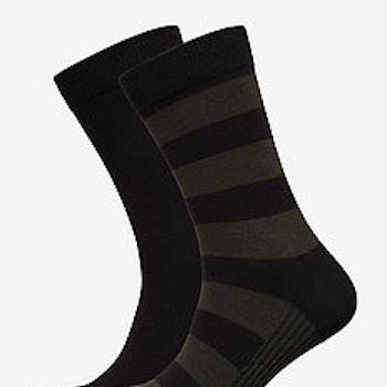 Sock Ankle BB Block Stripe - Strumpor