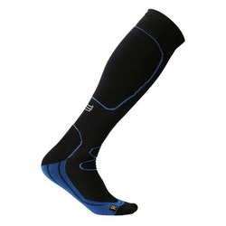 Sportkompressionsstrumpa Running – Black/Blue