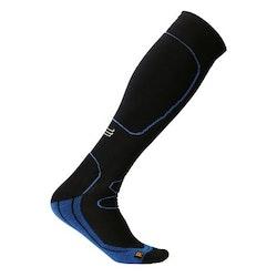 Sportkompressionsstrumpa Running – Black/Blue