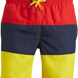 Loose Shorts Colourblock – High Risk Red