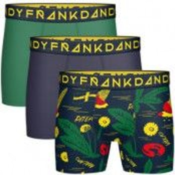 3-Pack Swewaii Boxer, Navy/Green/Navy