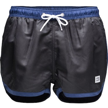 St Paul – Swim Shorts, Black & Dark Navy