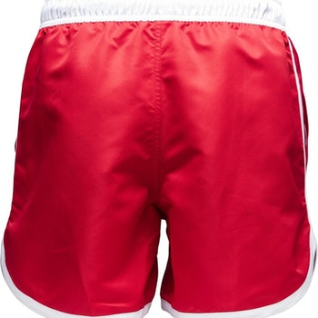 St Paul – Long Bermuda Swim Shorts, Red