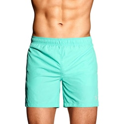 Basic Swim Shorts, Pool Green