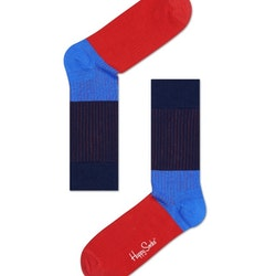 Ribbed Block Blue & Red