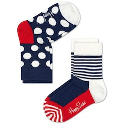 2-Pack barnstrumpor Big Dot Socks