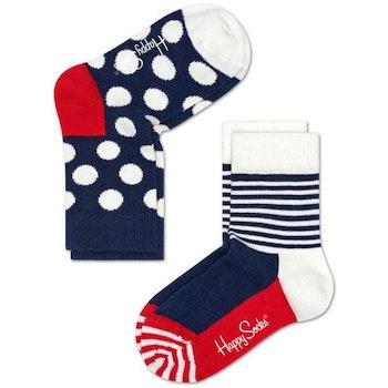 2-Pack barnstrumpor Big Dot Socks