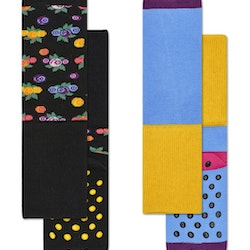 2-Pack Berry Anti-Slip Socks Multi