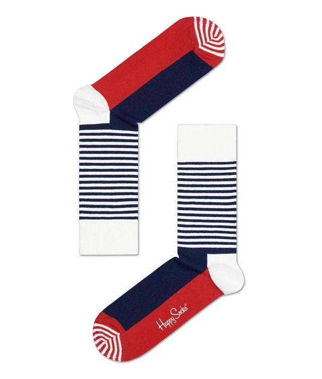 Stripe Half Navy