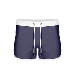 St Paul – Long Bermuda Shorts, Dark Navy