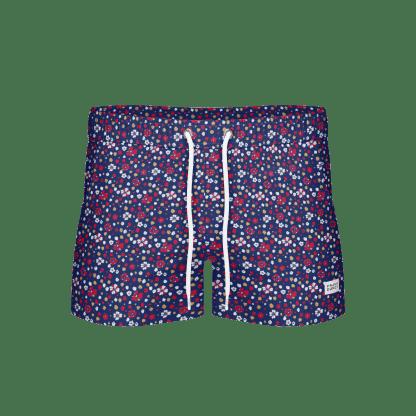 Breeze Blume – Long Swim Shorts, Navy