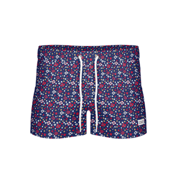 Breeze Blume – Long Swim Shorts, Navy