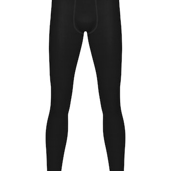 Bamboo Merino Long Johns – Black