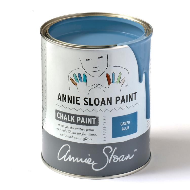 Annie Sloan Chalk Paint Greek Blue 1L