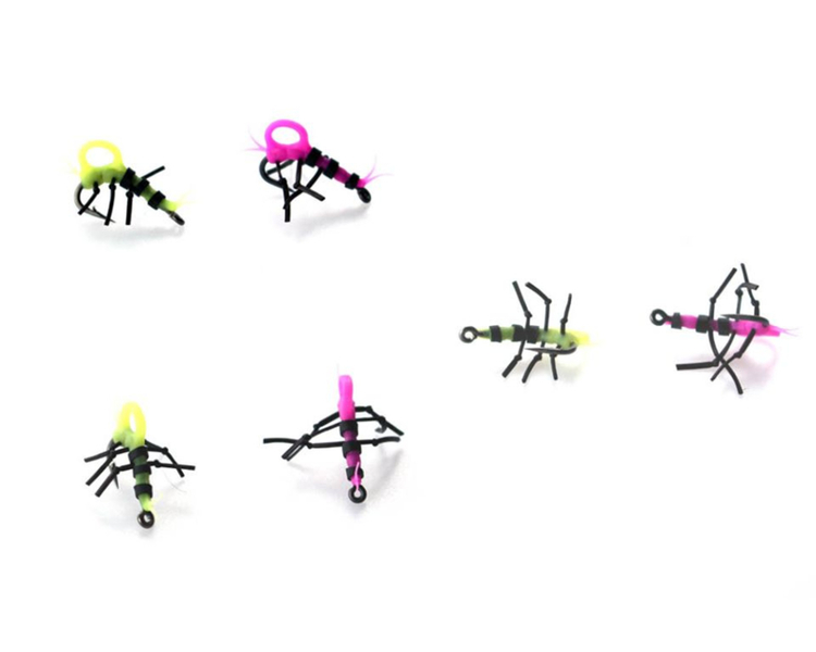 PB Products Zig-Insects (Yellow and Pink)