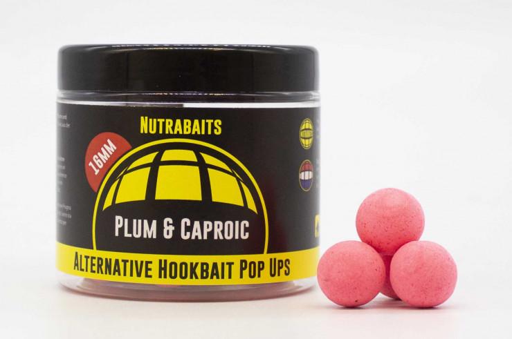 Nutrabaits Pop up  Plum & Caproic
