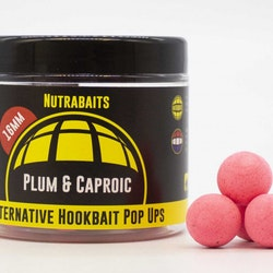 Nutrabaits Pop up  Plum & Caproic