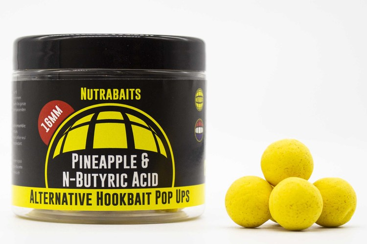 Nutrabaits Pop Up Pineapple & N-Butyric