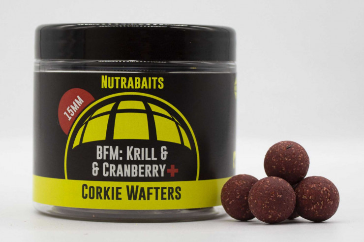 Nutrabaits Wafters BFM Krill & Cranberry+
