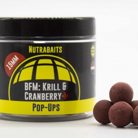 Nutrabaits Pop-up BFM Krill & Cranberry+