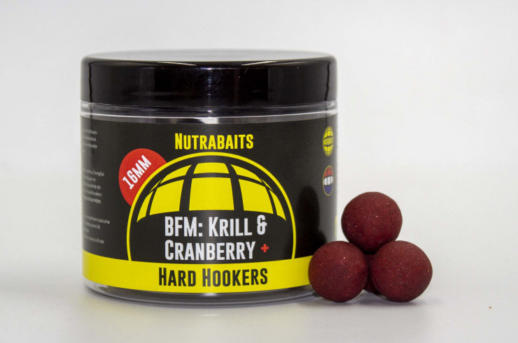 Nutrabaits Hardhookers BFM Krill & Cranberry+