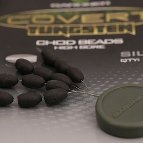 GARDNER Covert Tungsten Chod Beads (Low Bore - Silt)