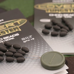 Gardner Covert Tungsten Chod Beads (High Bore - Silt)