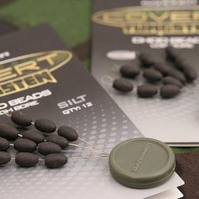 GARDNER Covert Tungsten Chod Beads (High Bore - Silt)