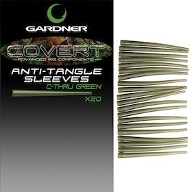 Gardner Covert Anti-Tangle Sleeves C-Thru Green