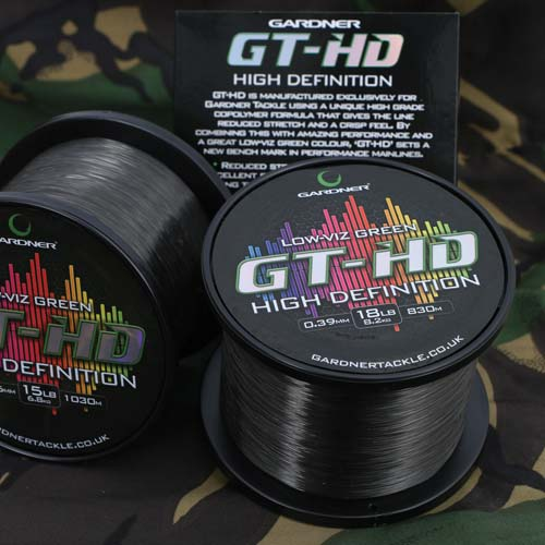 Gardner GT-HD High Definition Line 18lb 0.39mm