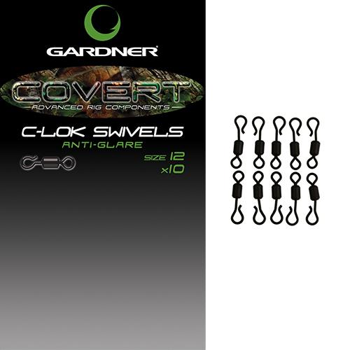 Gardner Covert C-Lok Swivels size 12