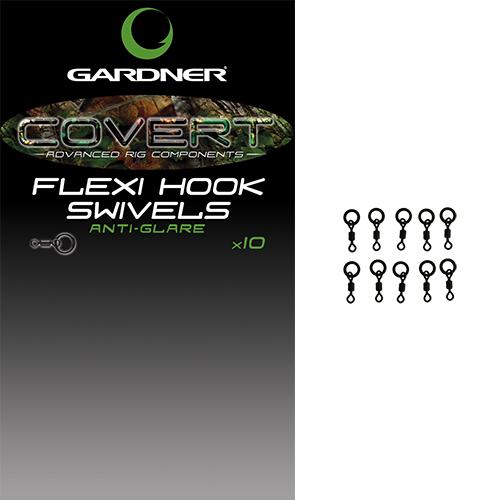 Gardner Covert Flexi Hook Swivels