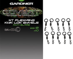 Gardner Covert XT Flexi-Ring Kwik Lok Swivels size 12