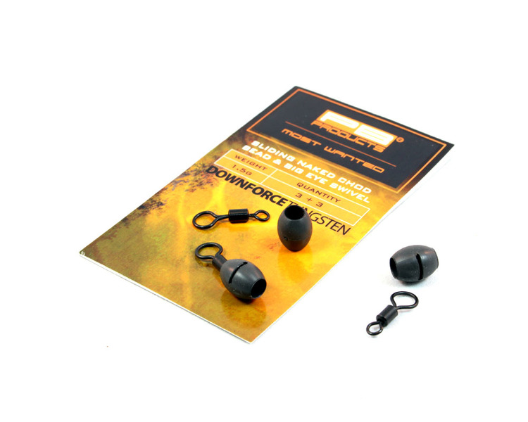 PB Products DT Naked Chod Bead & Ring Swivel