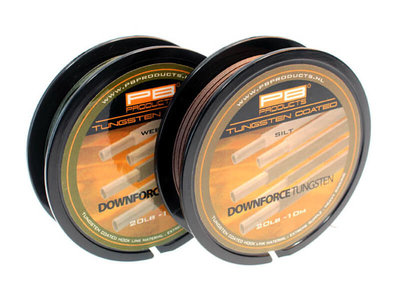 PB Products Downforce Tungsten Coated Hooklink 20lb