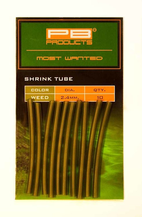 PB Products Shrink Tube 2,4mm Weed 10pcs